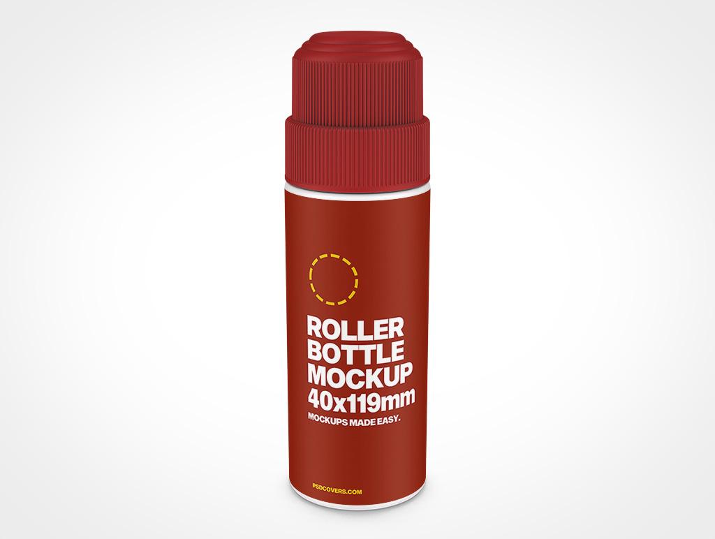 ROLLER BOTTLE CHILD RESISTANT CAP MOCKUP 40X119