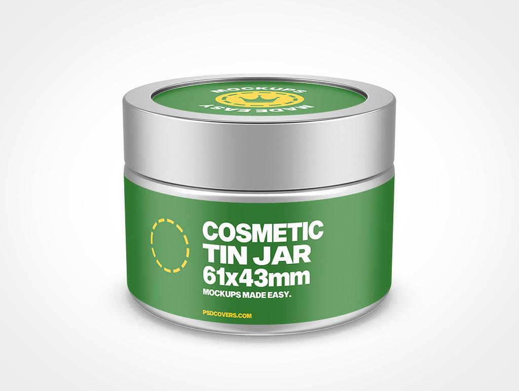 COSMETIC TIN JAR SCREW TOP MOCKUP 61X43
