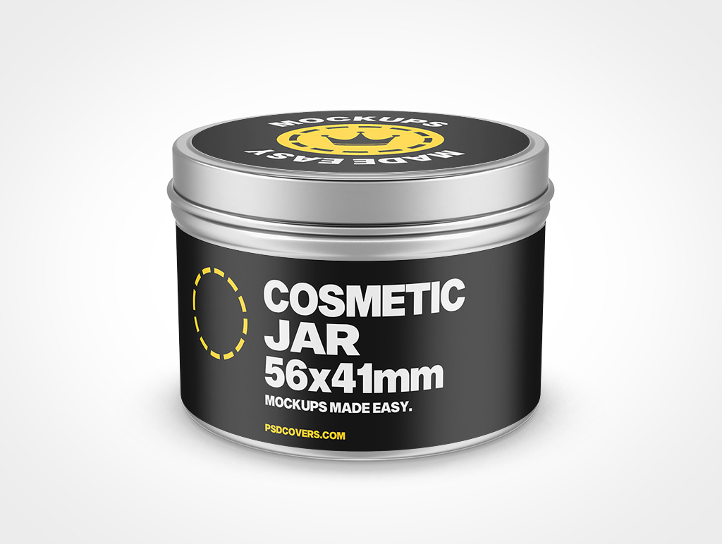 COSMETIC TIN JAR SLIP LID MOCKUP 56X41