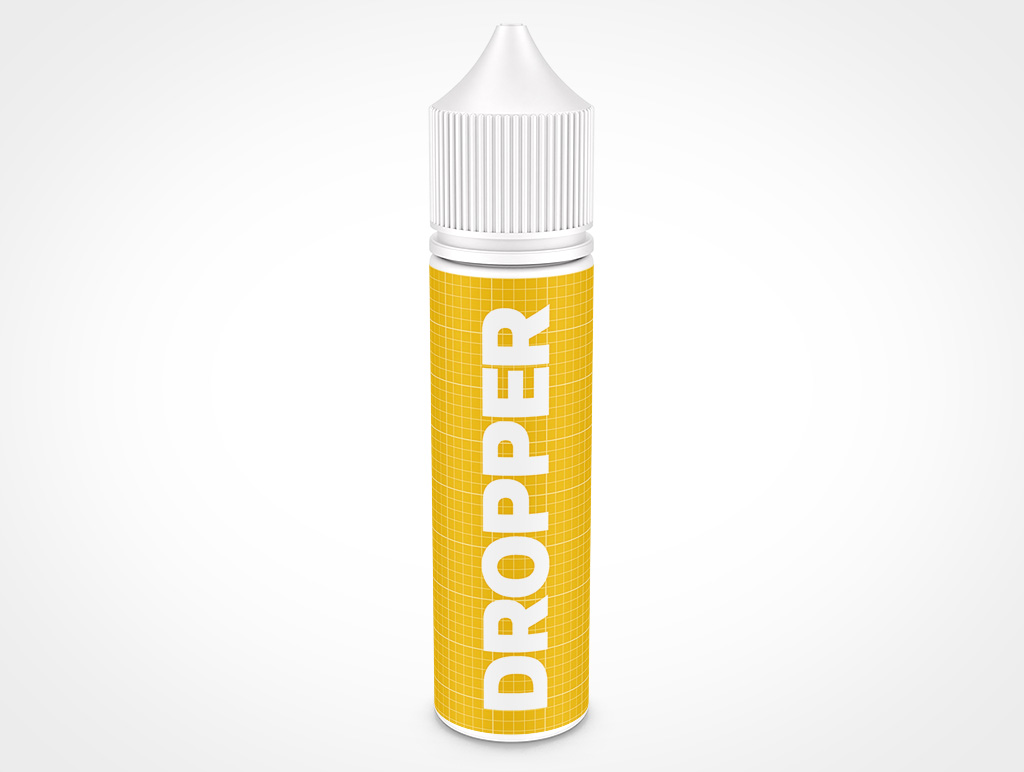 VAPE DROPPER BOTTLE MOCKUP 30X132