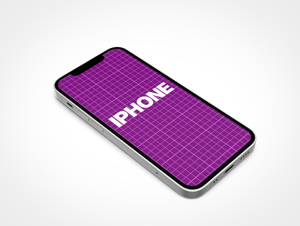 IPHONE 13 MINI MOCKUP FACEUP PORTRAIT