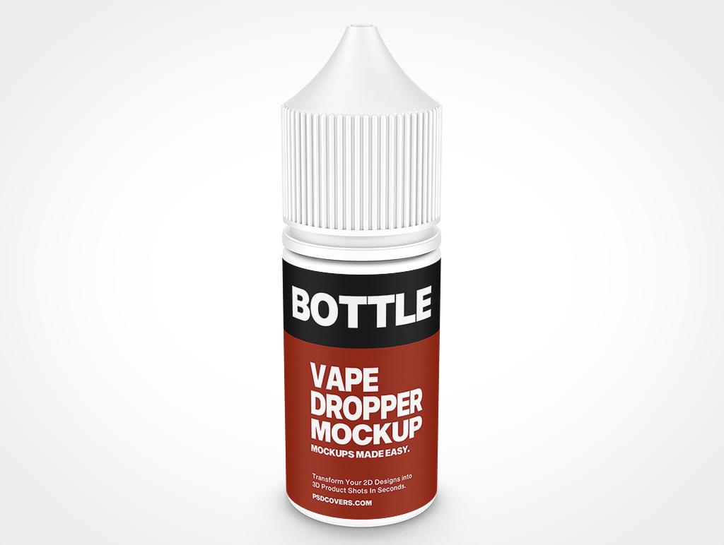 VAPE DROPPER BOTTLE MOCKUP 30X92